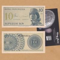 Uang Kertas Kuno untuk Mahar: 10 Sen 1964