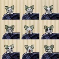 harga Aksesoris Hp Pluggy Kepala Kucing Chi Lucu Imut Aneka Ekspresi Tokopedia.com