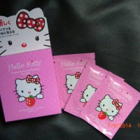 Masker Lumpur Naturgo Hello Kitty 20 Pcs
