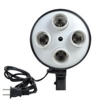 harga 4xe27 Socket Photo Video Studio Lamp Bulb Holder Umbrella Bracket Ligh Tokopedia.com