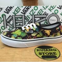 harga Sepatu Vans Authentic Kenzo Grape Black Icc Original Premium Quality Tokopedia.com