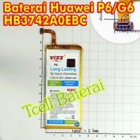 Baterai Huawei Ascend P6 G6 HB3742A0EBC