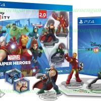 PS4 Disney INFINITY: Marvel Super Heroes (2.0 Edition) Starter Pack R1