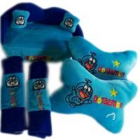 harga Bantal Mobil Cover Safety Belt Tempat Tissue Doraemon (bantal Mobil) Tokopedia.com