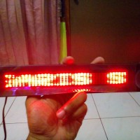 Running Text teks Led Display Led iklan