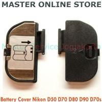 Cover Battery Kamera Digital SLR DSLR Nikon D50 D70 D80 D90 D70s