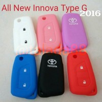kondom remote /casing silikon Toyota Grand All new Innova 2016