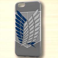 Attack on Titan Recon Corps Logo hart case iphone case dan semua hp