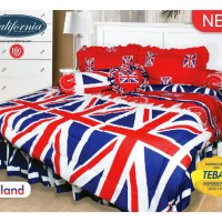 Bedcover + Sprei California 180x200 motif England KING (MY LOVE GROUP