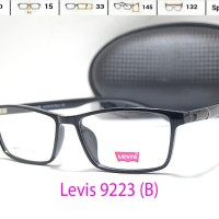 harga Frame Kacamata Gaya -levis 9223- Male/female - Baca/min/plus Tokopedia.com