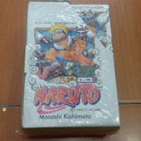 Komik Boxset Naruto 1-10