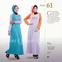 baju muslim remaja / belia putri branded
