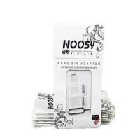 NOOSY 3 In 1 Nano SIM Adapter with SIM Card Tray Holder