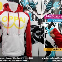 Jaket Sweater Saitama Oppai One Punch Man