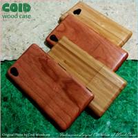 Sony Xperia M2 Z1 Z2 Z3 Wood Case | Casing  Langka Bahan Bambu & Kayu