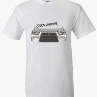 Kaos Mitsubishi Outlander murah/ Tshirt otomotif Mitsubishi Outlander