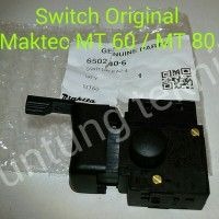 Switch / Saklar Mesin Bor Maktec Mt 60 / MT 80 Original