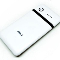 Exchangeable Cell Power Bank Case For 6Pcs 18650 AILI DIY -White/Black