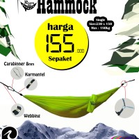 Jual Hammock Single Murah