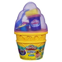 Play Doh Sweet Shoppe Ice Cream Cone Container