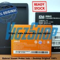 Baterai Xiaomi Redmi Note 2 / BM45, BM-45 + Desktop Charger Original