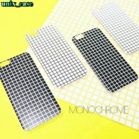 MONOCHROME CASE HP/CASING HP FOR IPHONE 4/4S 5/5S 6/6S 6+ AND SAMSUNG