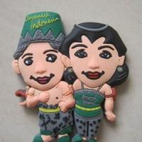 Magnet / tempelan kulkas rubber Indonesia 2