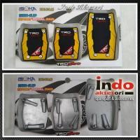Pedal Gas Manual Mobil TRD Sportivo Kuning Hitam Anti Slip