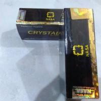 Jual Crystal X Original BPOM Tulisan Timbul Laser Print Rapih Murah