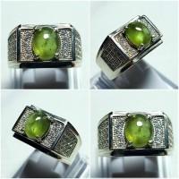 harga CINCIN GREEN SAPPHIRE (SAFIR) ring perak 925 Tokopedia.com