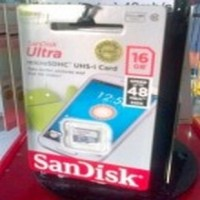 MICRO SD SANDISK ULTRA 16GB C10 (NA) 48mb / S