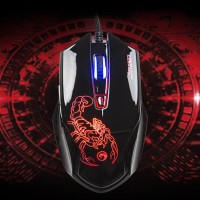 MARVO G922 + Driver Wired 6D Optical Gaming Mouse, with Macro Chipset