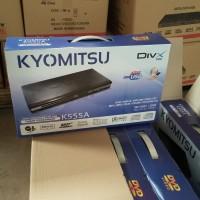 DVD KYOMITSU K555A bisa copy ke flashdisk bahan metal/besi bukan plast