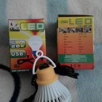 Lampu Bohlam LED USB 5 Watt MITSUYAMA