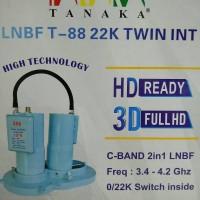 LNB Parabola TANAKA T-88 22K TWIN INT