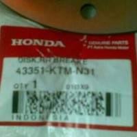 harga Disc/piringan Cakram Supra X 125 Ori Ahm Tokopedia.com