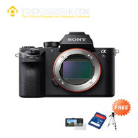 Sony Alpha A7S II Body Only + SDHC + Anti Gores + Tripod