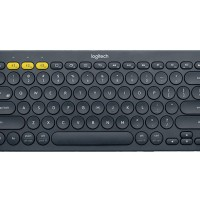 Logitech K380 Multi Device Bluetooth Keyboard - Hitam.