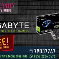 VGA Gigabyte Geforce GTX 970 G1 Gaming - 4GB - GV-N970G1 GAMING-4GD