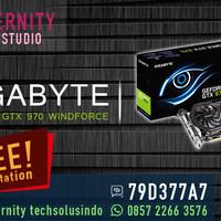 VGA Gigabyte Geforce GTX 970 Windforce 3x - 4GB - GV-N970WF3OC-4GD