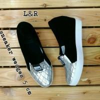 harga Sepatu Sneakers Wedges Wanita Tokopedia.com