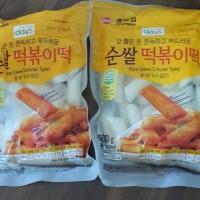 Cheongga Tteokbokki Tteok Korean Tubular Rice Cake Korea Potong