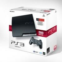 PS3 SONY PLAYSTATION 3 SLIM HDD 500GB CFW FULL GAMES GARANSI