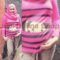 harga Baju Hamil Unik BP1 Pink Fanta Blouse Kaos Hamil Maternity T Shirt Tokopedia.com