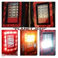Lampu Belakang Led / Stoplamp Led Jeep Wrangler Jk Rubicon
