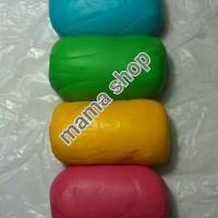 Fondant Warna Merk Fondx Sugar icing Gum Paste Hiasan Bahan Kue Ultah