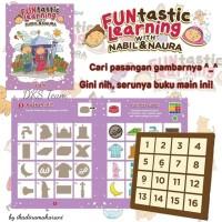 Buku dan Mainan Edukasi Funtastic Learning with Naura & Nabil