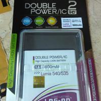 baterai Microsoft Nokia lumia 535 / 540 dobel power log on 3800 mah