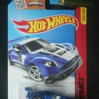 ASTON MARTIN Vantage GT3 blue HotWheels HW 2015 #149 race diecast