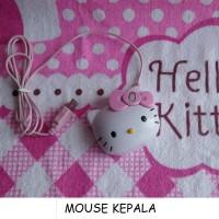MOUSE KEPALA HELLO KITTY